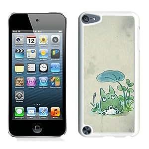 Fashion Designed My Neighbor Totoro 27 White iPod Touch 5 Phone Case