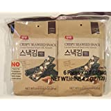 Dongwon Yangban Crispy Layered Seaweed Snack with Almonds (4.2 total ounce)
