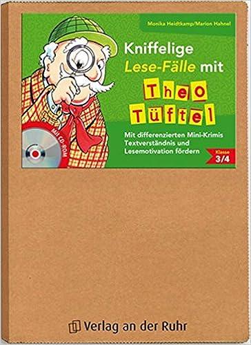 Kniffelige Lese-Fälle mit Theo Tüftel: \