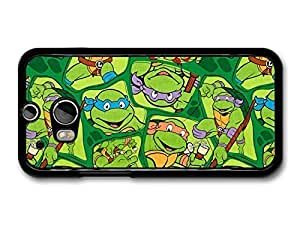 Ninja Turtles Collage Illustration Stickerbomb case for HTC One M8 A8952