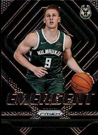 74f52d4a418 2018-19 Prizm Emergent Basketball  17 Donte DiVincenzo Milwaukee Bucks  Official NBA Insert Rookie