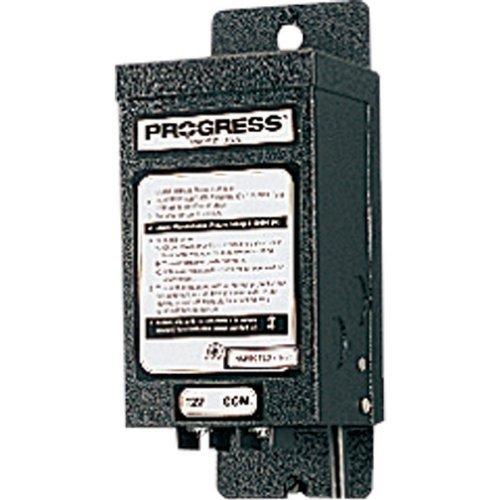 Progress Lighting P8592-31 Manual 12 Volt Transformer, Black by Progress (12v Manual Transformer)