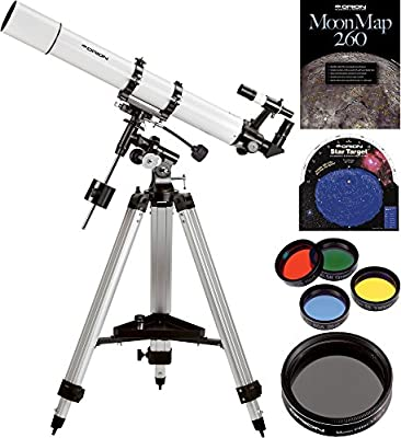 Orion AstroView 90mm EQ Refractor Telescope Kit