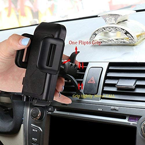 Car Mount,SGRICE Air Vent Car Phone Mount Holder Cradle Compatible for iPhone Xs//XS MAX//XR//X//8//8Plus//7//7Plus//6s//6Plus//5s,Samsung Galaxy S9//S8//S7 Edge and Other Smartphones
