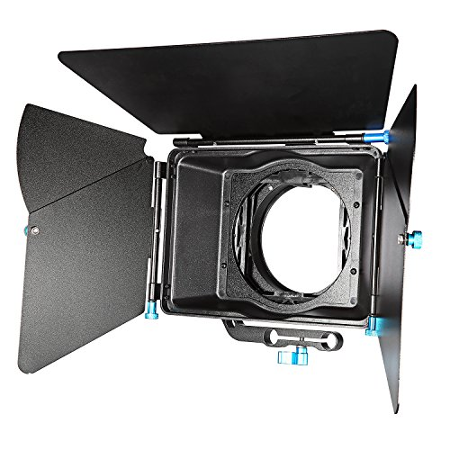 Neewer Aluminum Alloy Swing away Design Matte Box with Filte