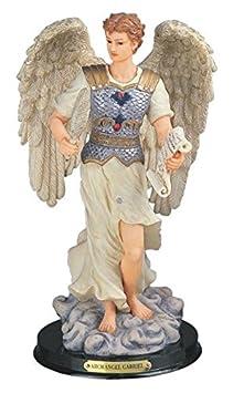 StealStreet SS-G-312.54 Archangel Gabriel Holy Figurine Religious Decor, 12