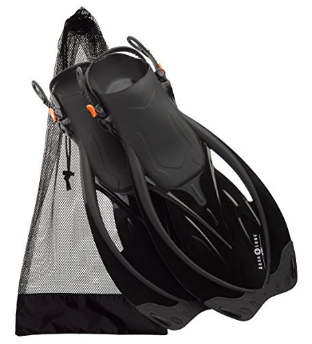 Aqualung Wave - U.S. Divers Aqua Lung Wave Snorkeling Fin, Black - Medium/X-Large