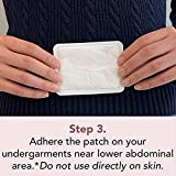 Rael Pain Relief Heating Patch - PMS Relief Natural Heating Patches