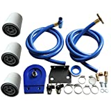 Coolant Filtration Filter Kit 3 Filters for 08-10 Ford 6.4L Powerstroke Diesel