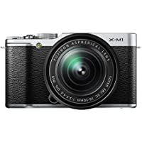 FUJIFILM mirror-less single-lens X-M1 lens kit Silver F X-M1S / 1650KIT [International Version, No Warranty]