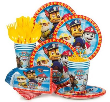 Paw Patrol Party Supply Standard Kit (Serves 8) -