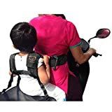 Childrens Motorcycle Safety Harness Seat Belt for Electric Car Bicycle Adjustable