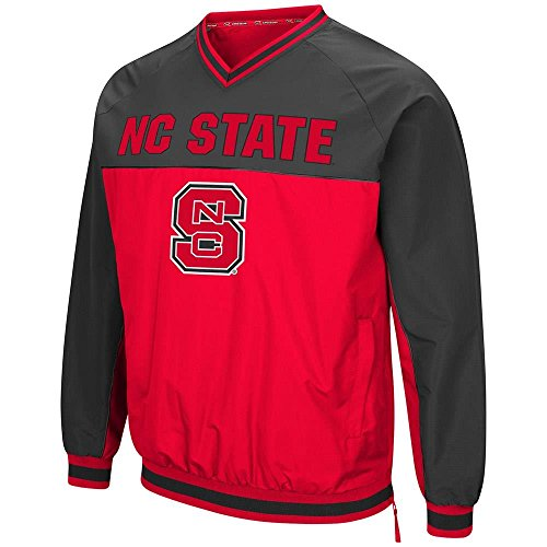 Wolfpack Nc Jacket State - Colosseum Mens NC State Wolfpack Windbreaker Jacket - L