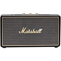 Marshall Stockwell Portable Bluetooth Speaker, Black (4091451) (Certified Refurbished)