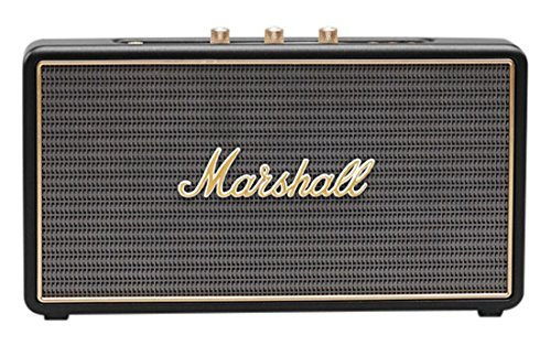 Marshall Stockwell Portable Bluetooth Speaker, Black (Renewed)