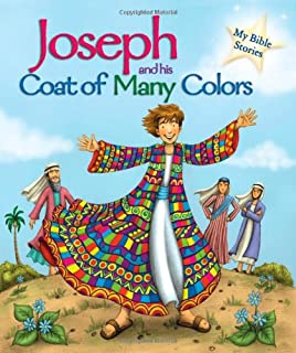 joseph and his coat of many colors my bible stories - Coat Of Many Colors Book