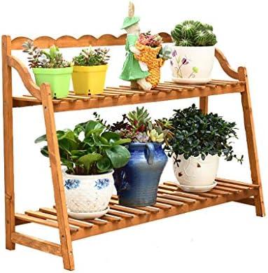 Estantes para plantas / estanteria jardin Soporte de flores de madera maciza Soporte de exhibición de flores
