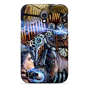 XtHFz4347GVdcd Case Cover The Art Galaxy S4 Protective Case