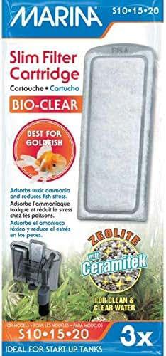 Marina Bio Clear Cartridge for Slim Filters 36pk (12 x 3pk)
