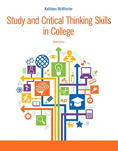 Study and Critical Thinking Skills in College (8th Edition) (Study And Critical Thinking Skills In College)