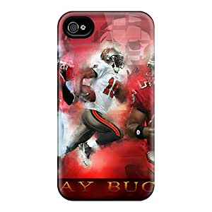 Iphone 4/4s HZO3885jbYS Support Personal Customs Fashion Tampa Bay Buccaneers Pictures Protector Hard Phone Cases -KellyLast