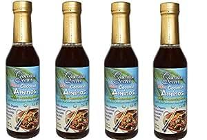 Coconut Aminos 8 oz Bottles (4-Pack)