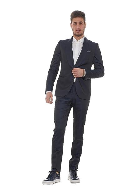 marchio famoso comprare popolare abbigliamento sportivo ad alte prestazioni Manuel Ritz Abito Uomo con Collo Revers a Scialle: Amazon.it ...