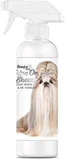 product image for The Blissful Dog Shine-On + Sheen Coat Spray, All Natural Leave in Conditioner and Detangler for Your Dog