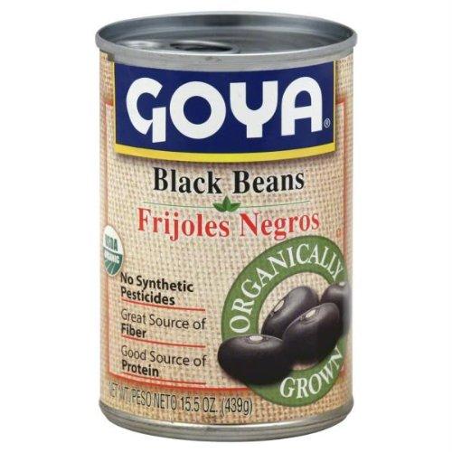 Goya Organic Black Beans, 15.5 Ounce -- 24 per case. by Goya