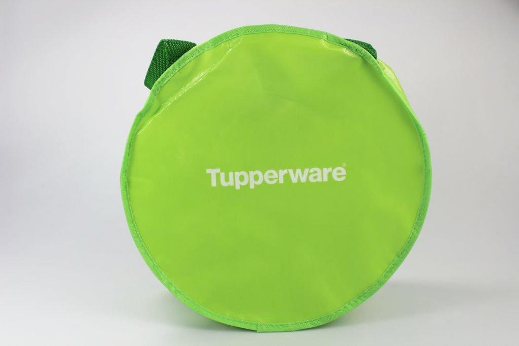'TUPPERWARE bolso redondo verde 'Happy Inside apto para Micro Gourmet 26578
