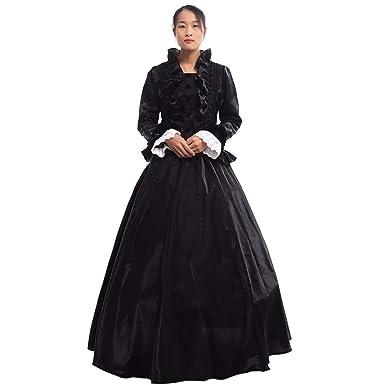 7222ad0e2a13 Amazon.com: GRACEART Women Medieval Renaissance Lolita Dress Masquerade Ball  Gown: Clothing
