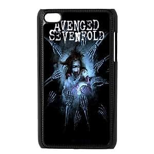 aqiloe diy Ipod Touch 4 Phone Case Avenged Sevenfold F5O8243