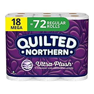Quilted Northern Bathroom Tissue, 18 Count (Pack of 1), White