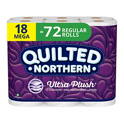 Quilted Northern Ultra Plush® Toilet Paper,  72 Regular Rolls Now $12.46 **$0.17 Per Roll**