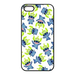 Disneys Lilo And Stitch iPhone5s Cell Phone Case Black yyfabc_951160