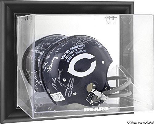Chicago Bears Wall Mounted Full Size Helmet Display Case by Mounted Memories