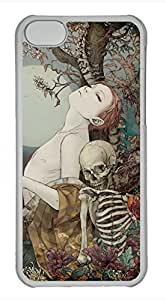 iPhone 5c case, Cute Vintage Girl iPhone 5c Cover, iPhone 5c Cases, Hard Clear iPhone 5c Covers