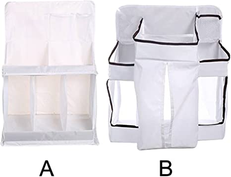 Diapers Organizer Baby Bed Cot Hanging Pocket Storage Bag Portable