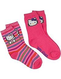 Hello Kitty - Sitting & Face Kids Socks 2 Pack