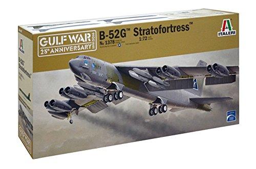 Italeri ITA1378S 1/72 B-52G Strat Fortress Toy, Grey ()