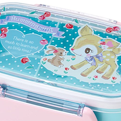 Sanrio Hamming mint two-stage lunch case DXS Cherry From Japan New