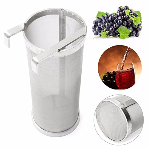 Jeteven 400 Micron Stainless Steel Home Brewing Beer Brewing Hop Filter Hop Spider,100m x 255m by Jeteven