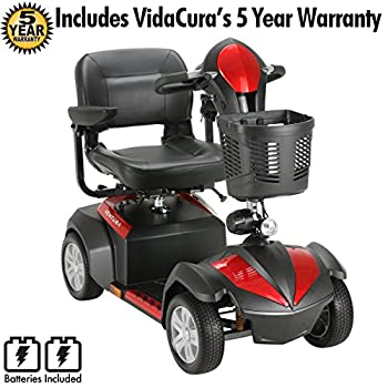 Drive Medical Ventura 4 Wheel Scooter Including 5 Year Extended Warranty