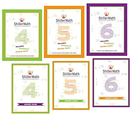 ShillerMath Kit II (4th Grade through Pre-Algebra): Amazon.com ...