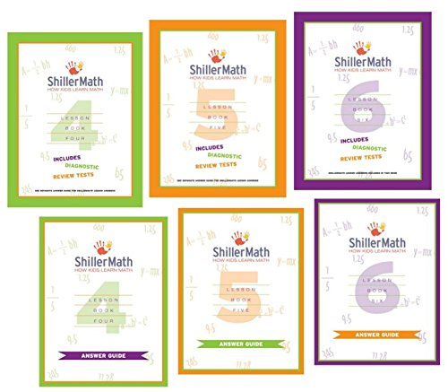 Amazon.com: ShillerMath Kit II (4th Grade through Pre-Algebra ...