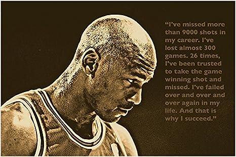 Amazon.com: Foto poster de Michael Jordan Baloncesto para ...