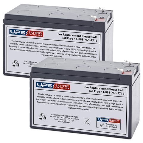 12V 7.2AH SLA Battery Replacement for Emad 600w Electric Skateboard - 2 Pack