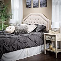 Celina Queen to Full Sized Beige Headboard