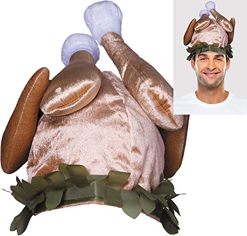 Amscan Cooked Turkey Hat for Thanksgiving Party | Accessory for $<!--$12.95-->
