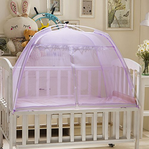 Icibgoods Dome Bed Canopy Netting Princess Mosquito Net